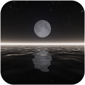 ocean live wallpaper MOON
