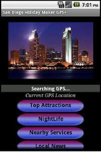San Diego Holiday Guide GPS+ screenshot 0