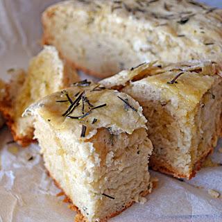 Rosemary Olive Oil Crock Pot Bread.