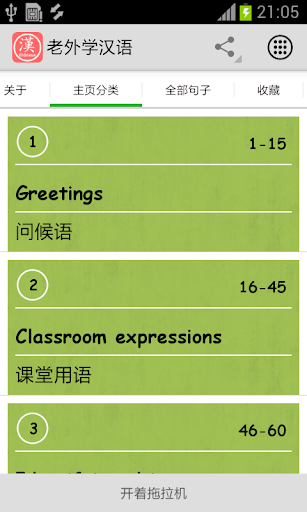 Chinese for foreigners