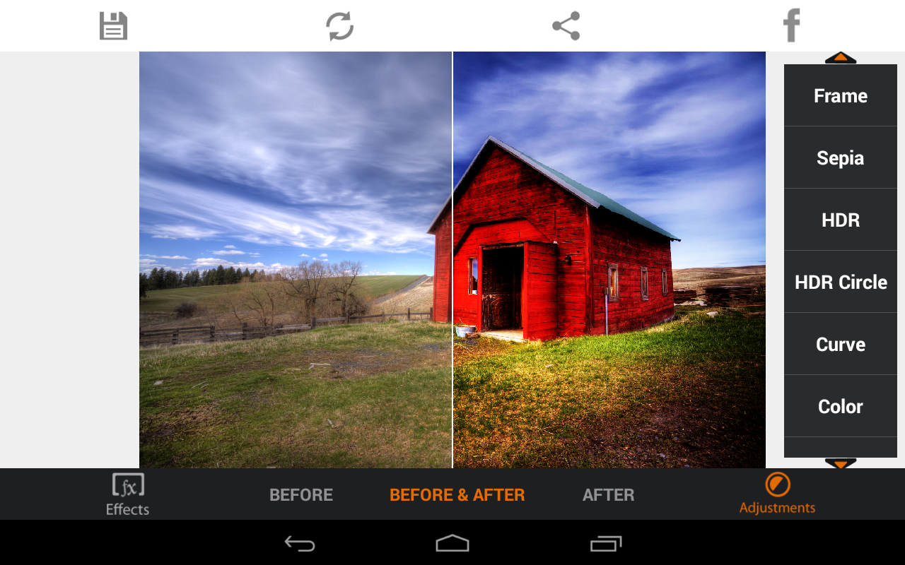 Photo Editor HDR FX- screenshot