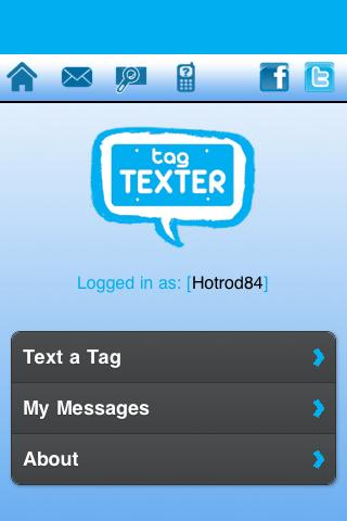 Tag Texter - screenshot