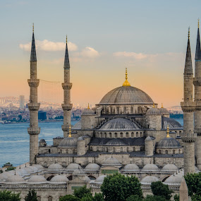 Blue mosque by Nesrine el Khatib - City,  Street & Park  Historic Districts