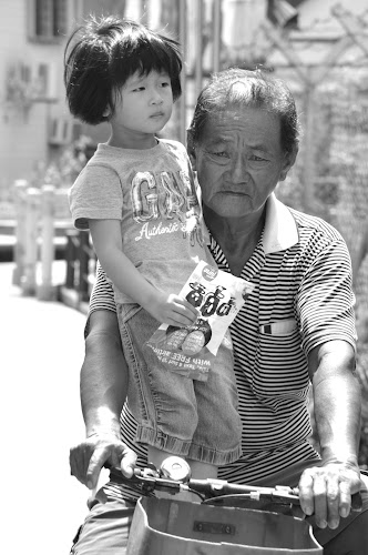Riding with Por Por by Karyn Leong - People Family (  )