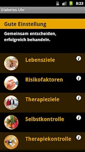 Diabetes-Uhr - screenshot thumbnail
