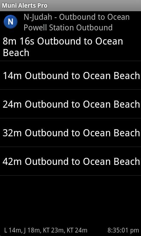 Muni Alerts Pro- screenshot