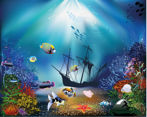 Hidden Object Underwater World