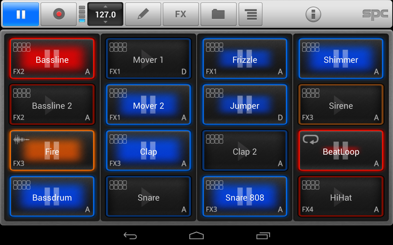 SPC Music Sketchpad 2 Demo - screenshot