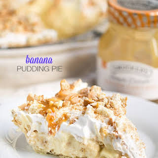 Best Ever Banana Pudding Pie.