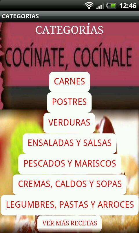 Cocinate, cocinale - screenshot