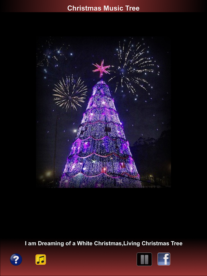Christmas Music Tree Playlist- screenshot