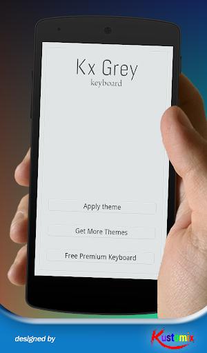 Kx Grey Keyboard