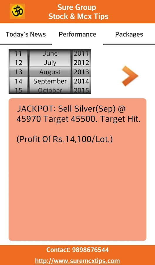 Sure Group: Stock & Nifty Tips- screenshot