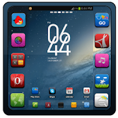 IGalaxy GO LAUNCHER EX THEME