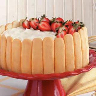Ladyfinger Cheesecake.