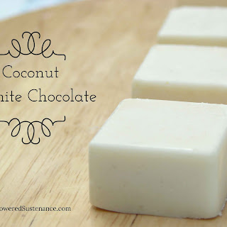 Coconut White Chocolate Fudge.