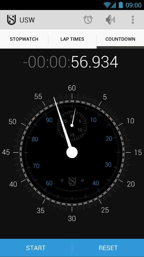 Ultimate Stopwatch & Timer - screenshot