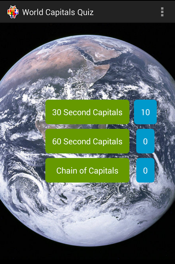 World Capitals Quiz- screenshot