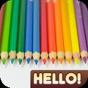Hello Color Pencil icon