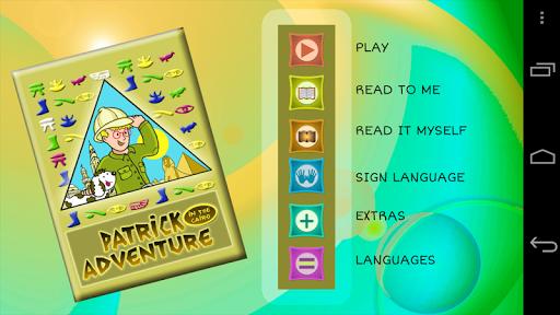 【免費教育App】Patrick in the Cairo-APP點子