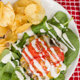 Cheeseburger Ranch Salad