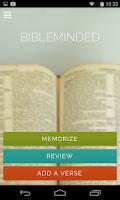 Screenshot of Bible Minded