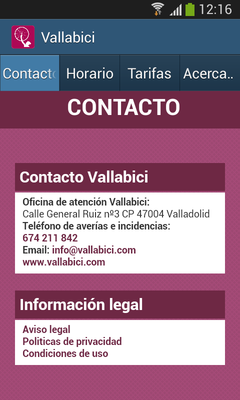 Vallabici- screenshot
