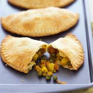 Jamaican-Style Vegetable Turnovers.