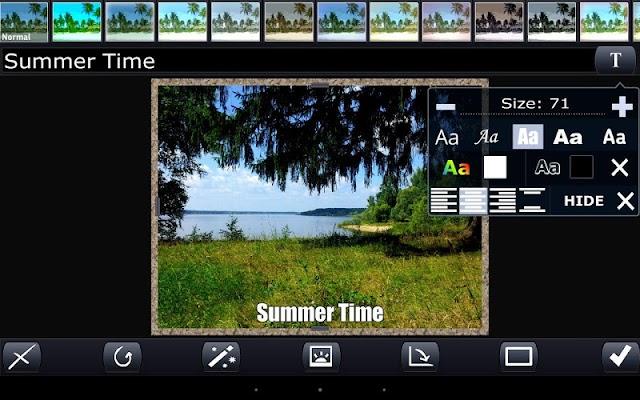 Photon. Mobile photoeditor - screenshot