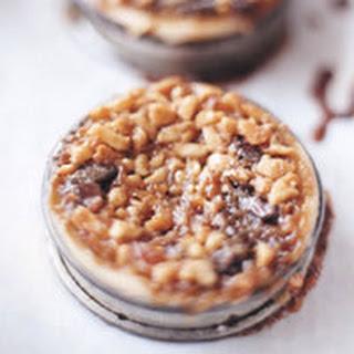 Macadamia Nut-Chocolate Tarts.