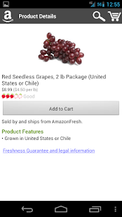 AmazonFresh- screenshot thumbnail