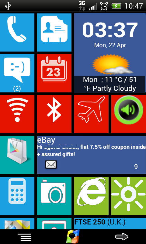 Windows8 / Windows 8 +Launcher - screenshot