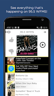 WFMS 95.5 Radio App- screenshot thumbnail