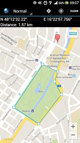 Screenshots for Map Coordinates