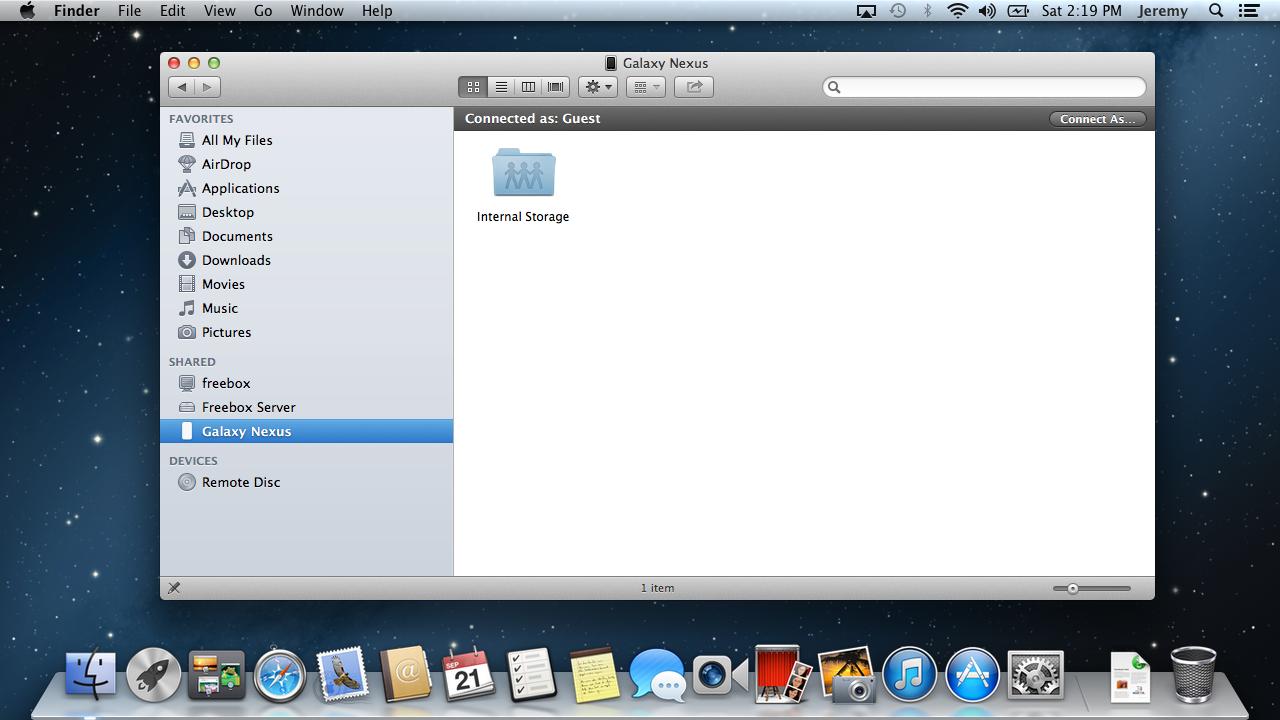Diskovery - WiFi File Transfer - screenshot