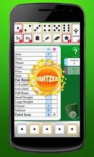 Yahtzy Online - screenshot thumbnail
