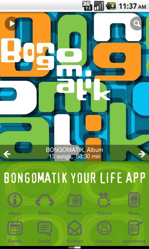 Bongomatik Your Life App