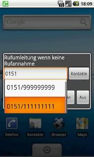 RedirectCall-call forwarding- screenshot thumbnail