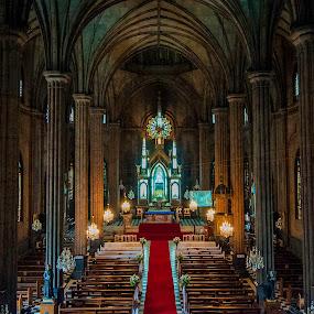San Sebastian Church, Manila by Victor Roman - Buildings & Architecture Places of Worship ( church, hdr, nikon d300, nikon, manila, , building, interior, worship )