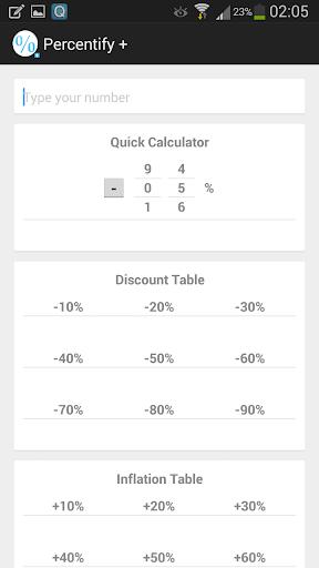 Percentify +