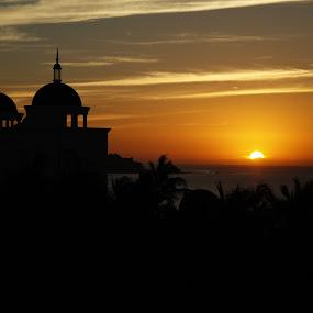 The Days Begining by Guy Longtin - Landscapes Sunsets & Sunrises
