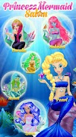 Screenshot of Princess Mermaid Salon