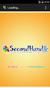 Secondhand.lk screenshot 0