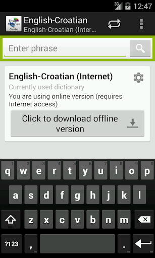 English-Croatian Dictionary