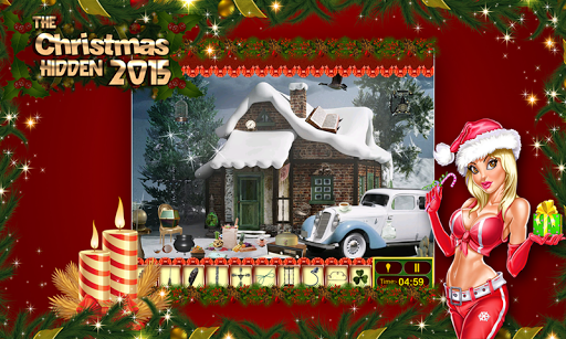 Christmas Toys Hidden Objects