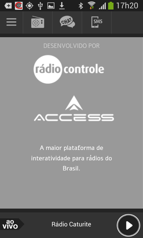 Rádio Caturite- screenshot