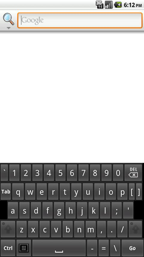 My Tablet Keyboard - screenshot