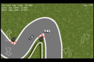Screenshot of Racing 2D