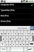 Screenshot of Flexpansion Keyboard FREE