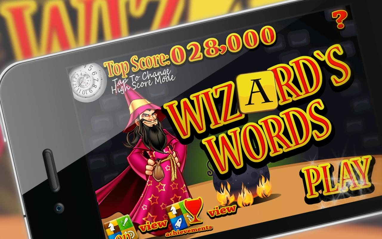 Wizard Words - screenshot
